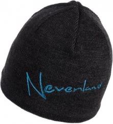 NEVERLAND Czapka męska Note czarno-niebieska (P-04-NOTE-133-UNI)