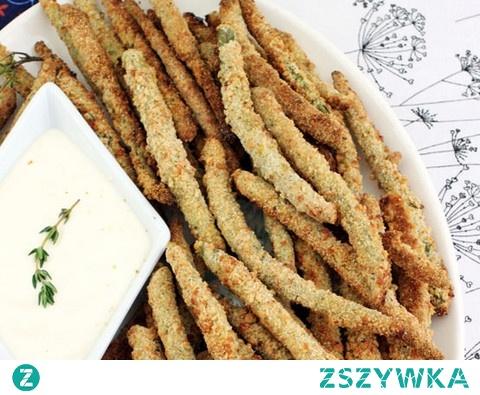 Frytki z fasolki szparagowej