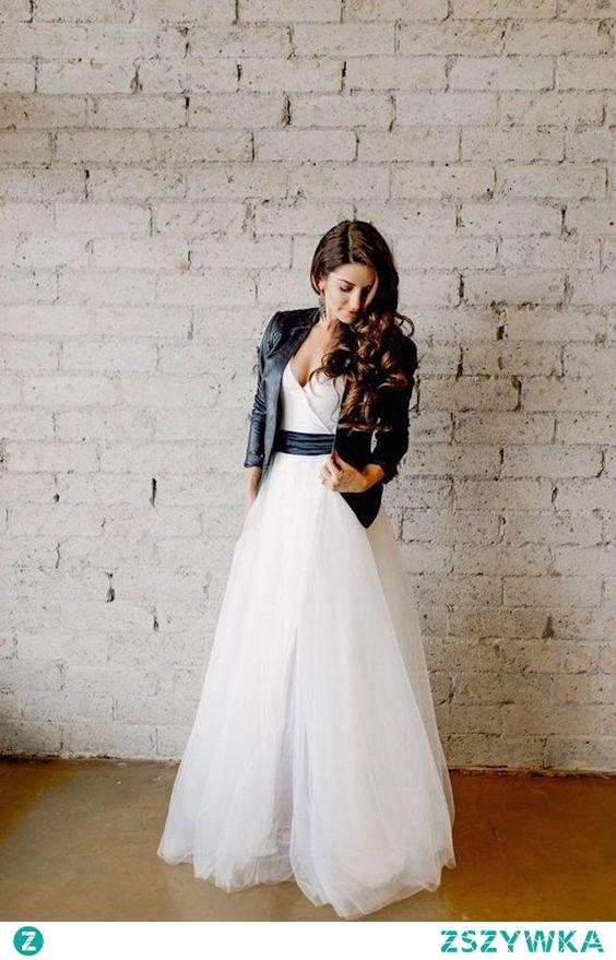 Suknia ślubna inaczej