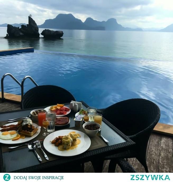 Kto chciałby zjeść śniadanie w takim miejscu?:)
