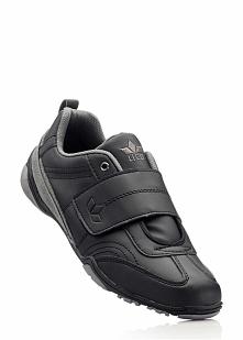 Buty sportowe skórzane Lico bonprix czarny