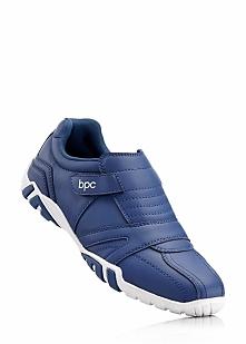 Buty sportowe wsuwane bonprix indygo