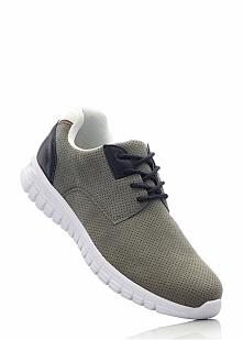 Sneakersy bonprix szary