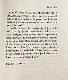 """Fragment książki """"Jezus mówi do ciebie"""""""