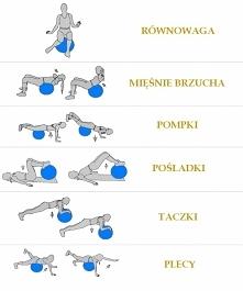 Ćwiczenia wzmacniające mięśnie, na zdrowy kręgosłup.