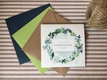 wiosenne zaproszenia ślubne ZAPROSZENIANAVI