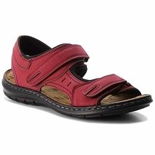Sandały LANETTI - MSA426-1 Czerwony