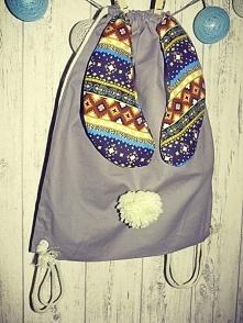 Plecaczek Kicaczek :) Mój handmade