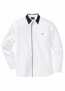 Koszula Regular Fit bonprix biały