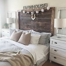 styl rustykalny, sypialnia