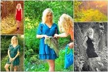 W plenerze.... sukienki Ark...