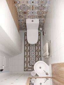 łazienka, brąz, wzory