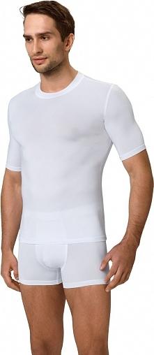Gwinner Koszulka męska Perfect Fit Men T-Shirt LIGHTline biała r. L