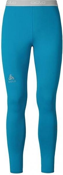 Odlo Spodnie Tights SLIQ 2.0 niebieskie r. L (349002)