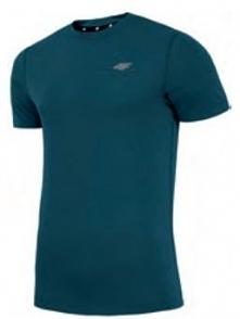 4f Koszulka męska H4L18-TSM002 zielona r. XXL