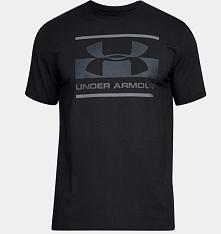 Under Armour Koszulka męska Blocked Sportstyle Logo Black r. M (1305667001)