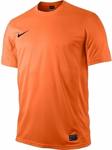 Nike Koszulka Park V Boys pomarańczowa r. S (448254 815)