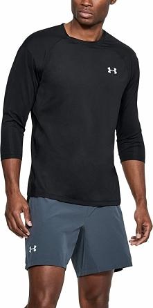 Under Armour Koszulka męska UA CoolSwitch Power Sleeve czarna r. S (1313998-001)
