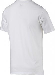 Puma Koszulka męska ESS Tee biała r. S (838238 02)