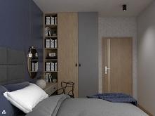 Niebieska sypialnia od Vins...