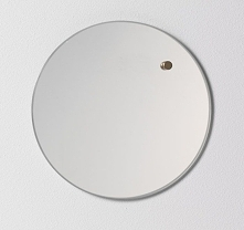 NAGA Szklana tablica magnetyczna lustro 25 cm (70360)