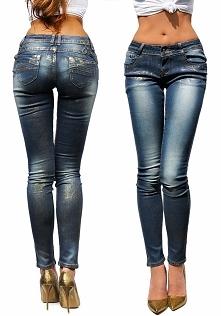 Modne Spodnie Damskie Jeans...