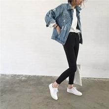 Kurtka jeansowa lata 90 - Link w komentarzu