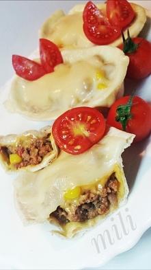 Meksykańska kolacja●Składniki na farsz •mięso mielone 300g(u mnie cielęcina)•...