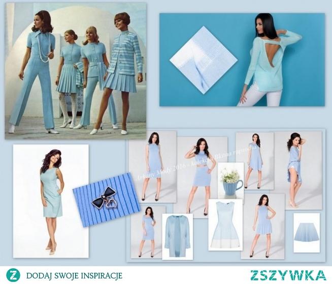 W odcieniach błękitu - idealny kolor na ciepłe słoneczne wakacyjne dni :) Arkany Mody