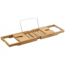 Półka łazienkowa na wannę, 100% bambus, ZELLER