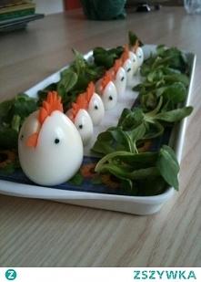 Jajka, pomysł