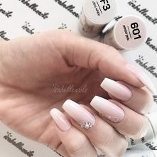 F3 Ultra White i 601 Pastel Pink od IsabelleNails <3