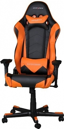 Fotel DXRacer Racing Czarno-pomarańczowy (OH/RZ0/NO)