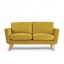 Sofa 2 dwuosobowa TAGIO żółty
