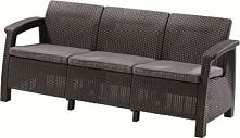 Allibert Sofa Corfu Love Seat Max Antracit