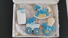 Ciasteczka idealnie nadają się na chrzest,roczek, baby shower i inne imprezy!...