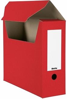 Biella pudło archiwizacyjne A4 czerwone (B0263410-45)