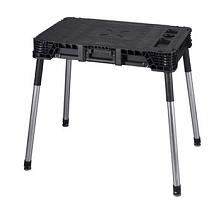Stół składany roboczy warsztatowy Jobmade Basic Czarny