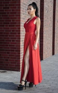 RACHEL - maxi sukienka z ko...