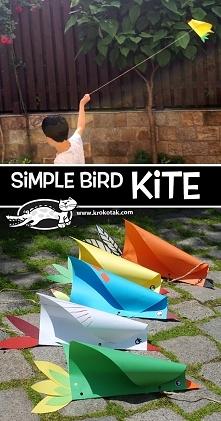 Jak zrobić mały latawiec? :...