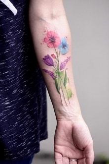 Tatuaż Bukiet