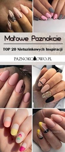 Matowe Paznokcie: TOP 25 Nietuzinkowych Inspiracji na Matowy Manicure