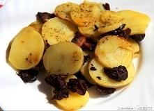 Ziemniaki duszone z boczkiem i suszonymi śliwkami  Szybkie, niedrogie i bardz...