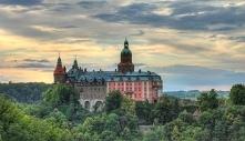 Polska, Zamek Książ - puzzle. Inspiracje na wakacje.  #puzzle, #układanka, #j...