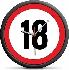 Froster Zegar urodzinowy 18 - Przekrocz limit