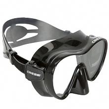 Maska F1 Cressi czarna
