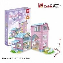 Puzzle 3D Domek dla Lalek 73 elementy - DARMOWA DOSTAWA OD 199 ZŁ!!!