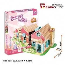 Puzzle 3D Domek dla Lalek 84 elementy - DARMOWA DOSTAWA OD 199 ZŁ!!!