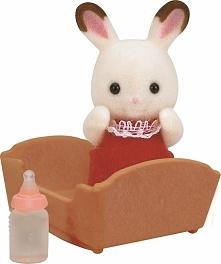 Sylvanian Families Dziecko  królików z czekoladowymi uszkami 3410