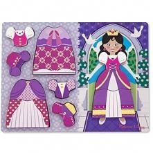 Puzzle drewniane MELISSA & DOUG Ubierz księżniczkę